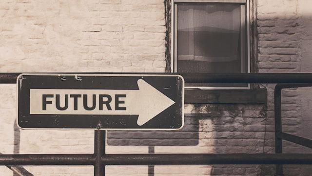 futureという看板の画像